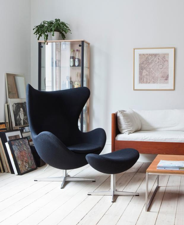 Der Egg Chair von Arne Jacobsen - Inspiration und Favoriten von Antina Heiter ah Homeconsult